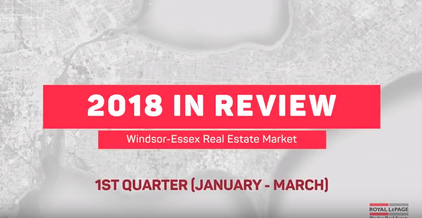 Q1 2018 Statistics for Real Estate in Windsor & Essex County